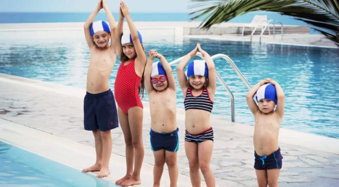 Hit reser barnen i sommar