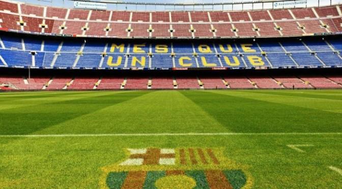 Spansk fotboll i Barcelona och Madrid